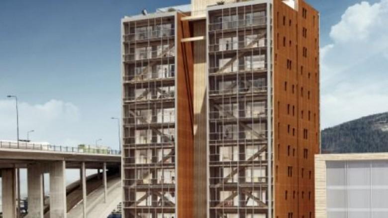 Ndërtesat publike që do të ndërtohen prej druri – VIDEO